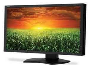 NEC 24 Inch Widescreen Professional Graphics Desktop Monitor P241W-BK