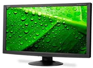 NEC 24 Inch LED-Backlit Value Widescreen Desktop Monitor AS241W-BK